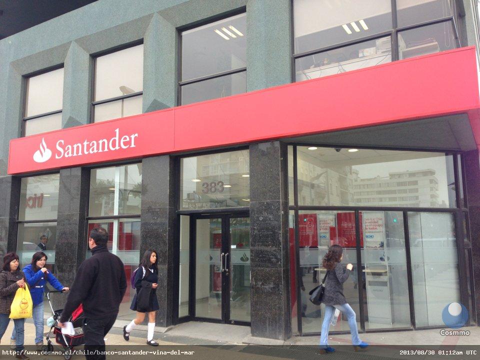 Banco Santander, Viña del Mar - Cosmmo.cl
