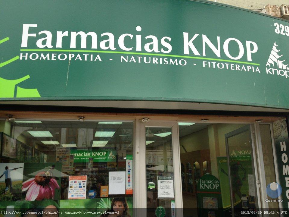 Farmacias Knop, Viña del Mar - Cosmmo.cl